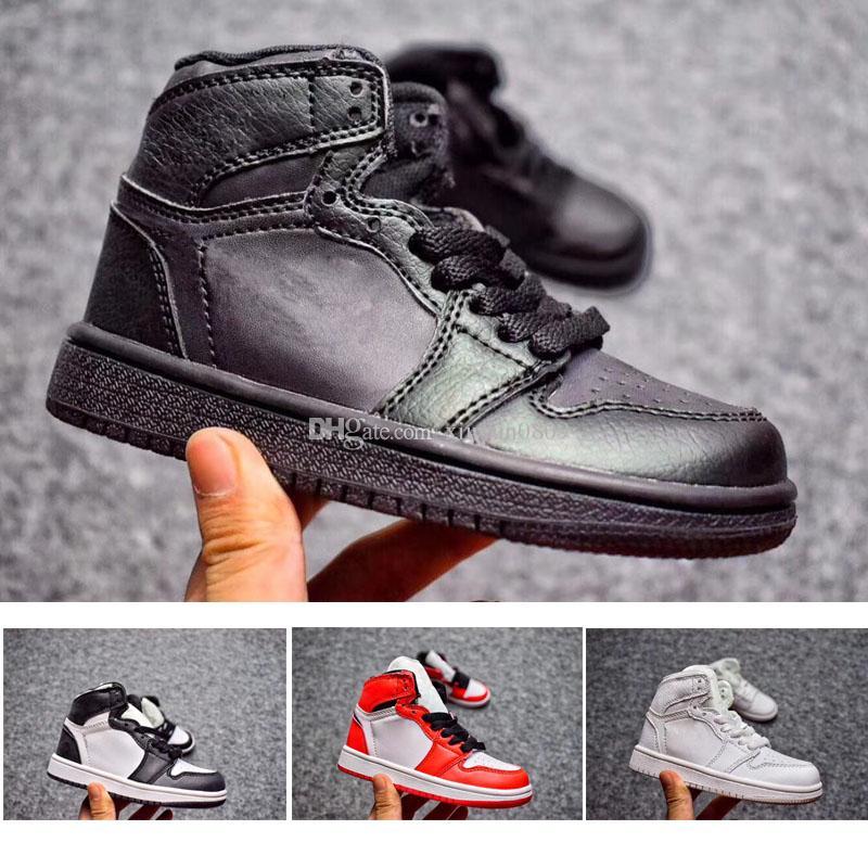 3 Pour Nike Air Chaussures Jordan Retro 1 Acheter 12 Enfants l1KJTcF