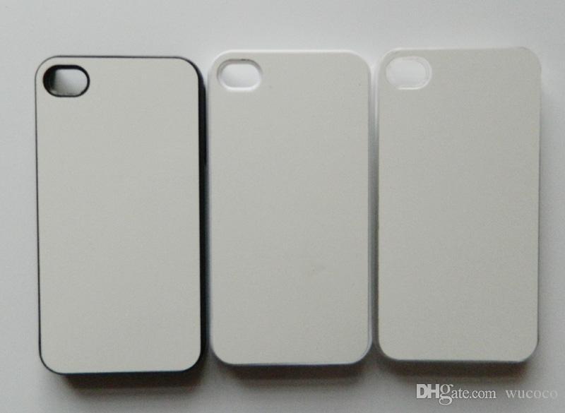 4b30f4b936a Fundas Para Móviles Fotos Personalizadas Para El IPhone 4 4S Sublimación  Caja De Teléfono De Impresión De Transferencia En Caliente + Hojas De  Aluminio En ...