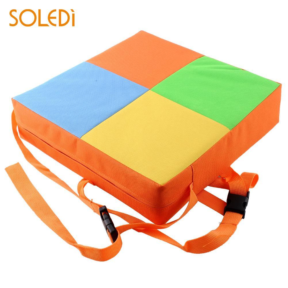 Soft Kids Chair Dining Chair Booster Cushion Toddler Highchair Baby Seat Pad High Chair Safe Home Office Decor Comfortable