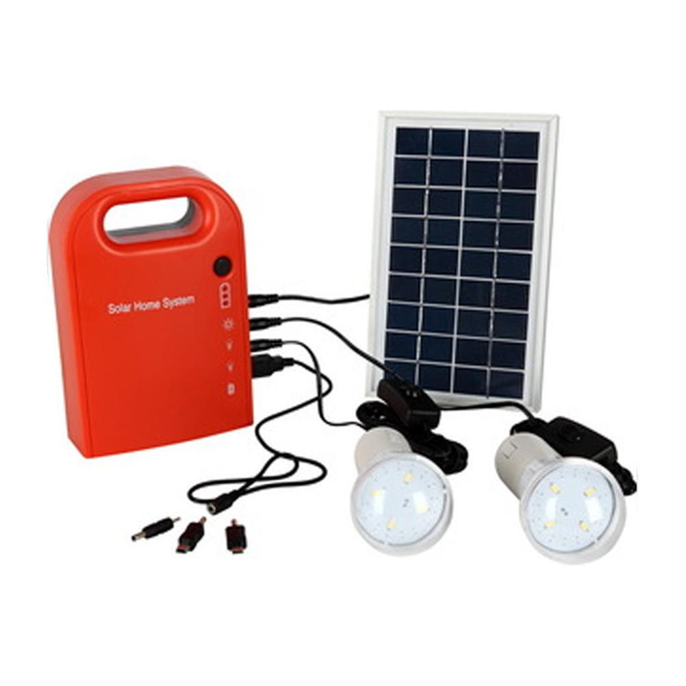 2018 Led Solar Lamp Panels Powered Battery 6v 4.5ah Generator Home ...