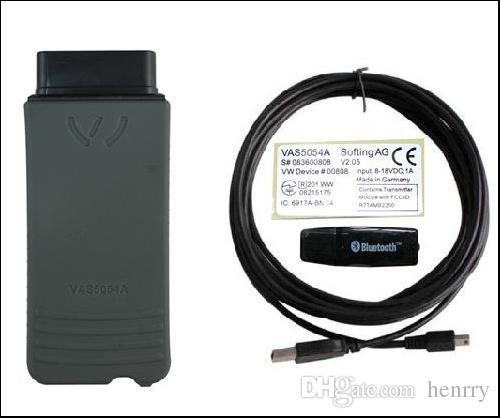 Самая низкая цена VAS 5054A с OKI чипом ODIS V2.0 Bluetooth VW Audi Skd сиденье Vag диагностический инструмент VAS 5054A лучшее качество