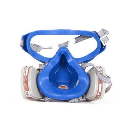 FREESHIPPING نمط جديد البدلة التنفس الطلاء قناع الوجه رش الغاز مع نظارات نظارات الطلاء