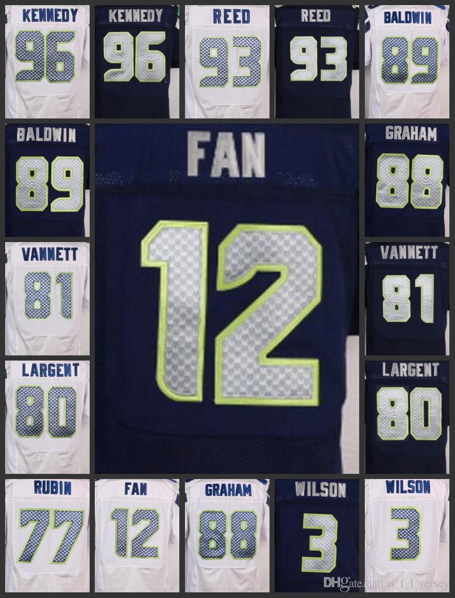 Men Seattle Seahawks  12 Th Fan Kearse Women Youth Jerseys 3 Russell Wilson  96 Cortez Kennedy 89 Doug Baldwin Embroidery Jersey Online with   27.22 Piece on ... 3e69cebf2