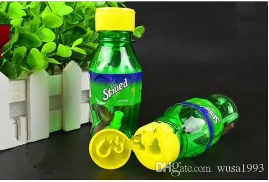 Sprite, accesorios de cristal al por mayor de la cachimba, pipas de cristal de la plataforma petrolera del burbujeador de cristal, entrega al azar del color