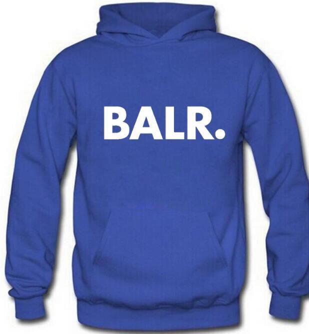 Fleece BALR Casual Unisex Hoodies Sweatshirt Cool Hip Pop Pullover Mens&women Sportwear Coat Jogger Tracksuit Fashion