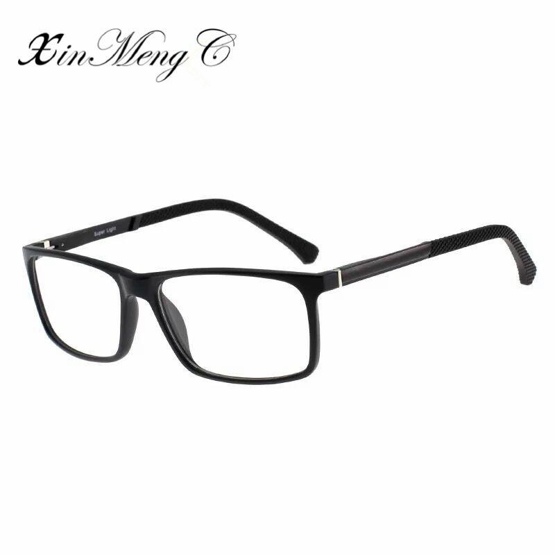 b94c5a52f76 XinMengC 2018 High Quality TR90 Eyeglasses Frame Women Men Anti Blue ...