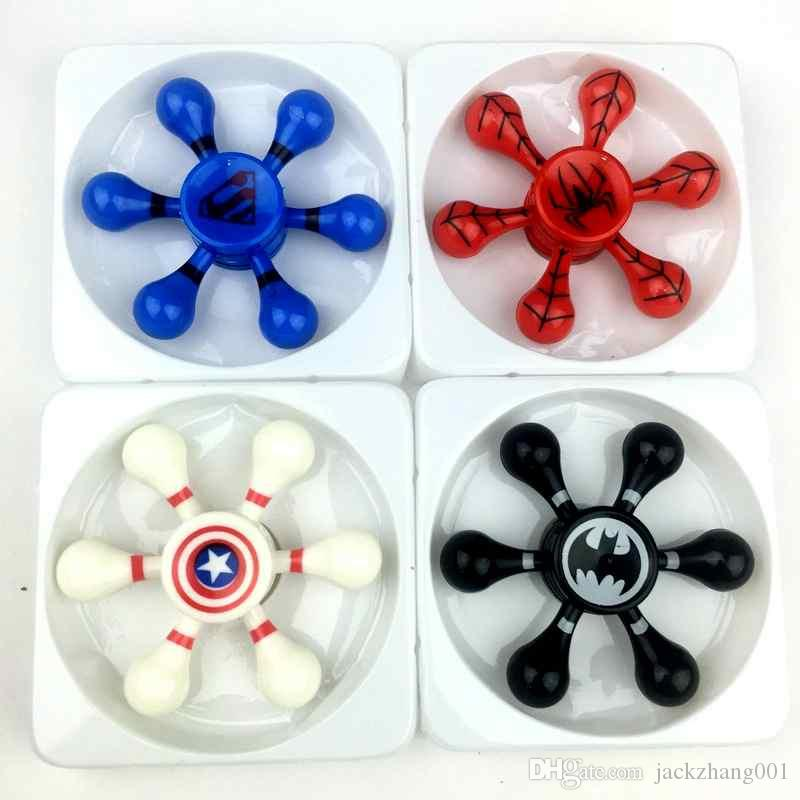 New Light Fid Spinner Led Stress Hand Spinners Glow In The Dark