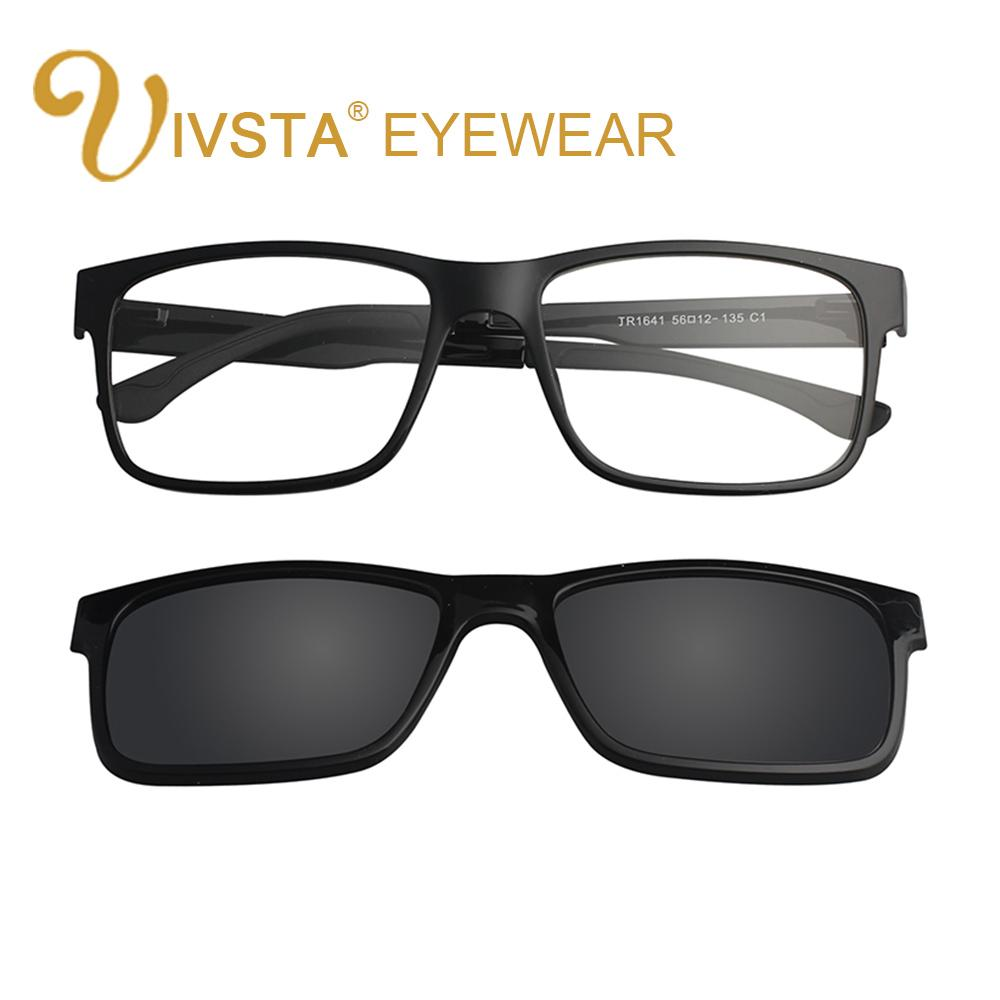 Magnet Clip On Ivsta Women Include Myopia Sunglasses Frame Optical Mirrored Magnetic Polarized Frames With FTl5uc3K1J