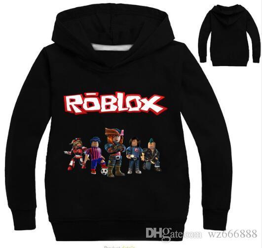de46b95f04fe Roblox Hoodies Shirt For Boys Sweatshirt Red Noze Day Costume Children  Sport Shirt Sweater For Kids Long Sleeve T Shirt Tops Jacket Boy Boys Fall  Jacket ...