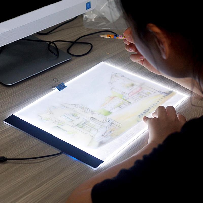 Style Of 2018 Accessories Ultrathin 3 5mm A4 Led Light Tablet Pad Apply To Eu Uk Au Us Usb Plug Diamond Embroidery Painting Cross Stitch From Taylor001 For Your House - Modern led light accessories For Your Plan