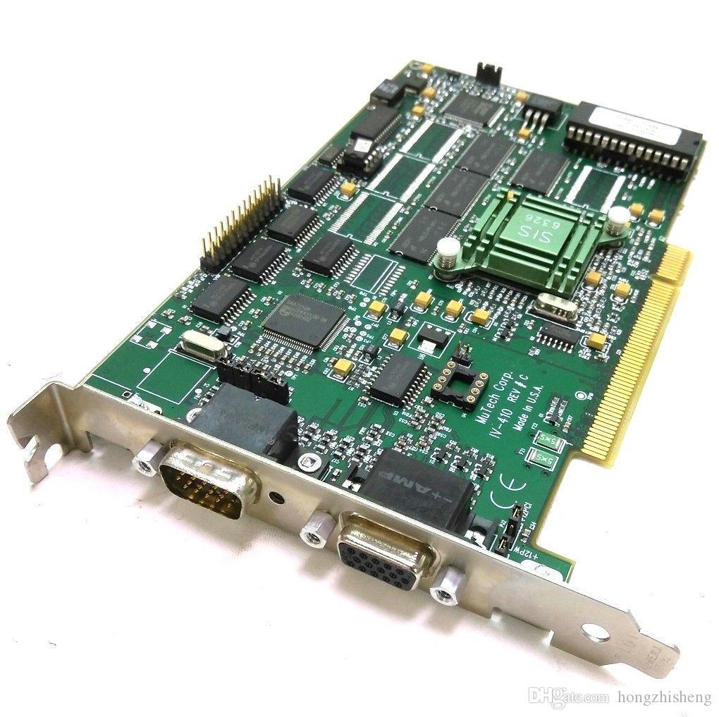 Промышленное оборудование платы видеокарты MuTech IV-410 REV.C IV410-8MB REV-CI OGP часть устройства