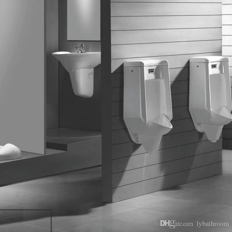 Wall-mounted White Potty Toilet Ceramics Men Vertical Urinal One ...