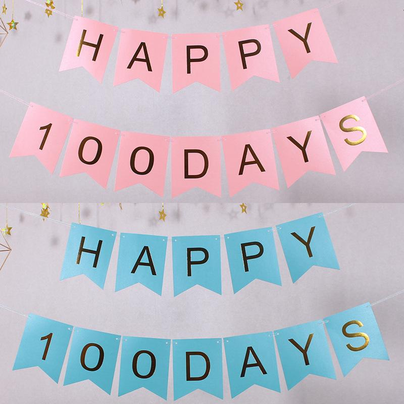 Paper Bunting Garland Banners Flags Happy Birthday Banner Boy Girl Baby Decoration Party Suppliers Online With 1534 Piece On