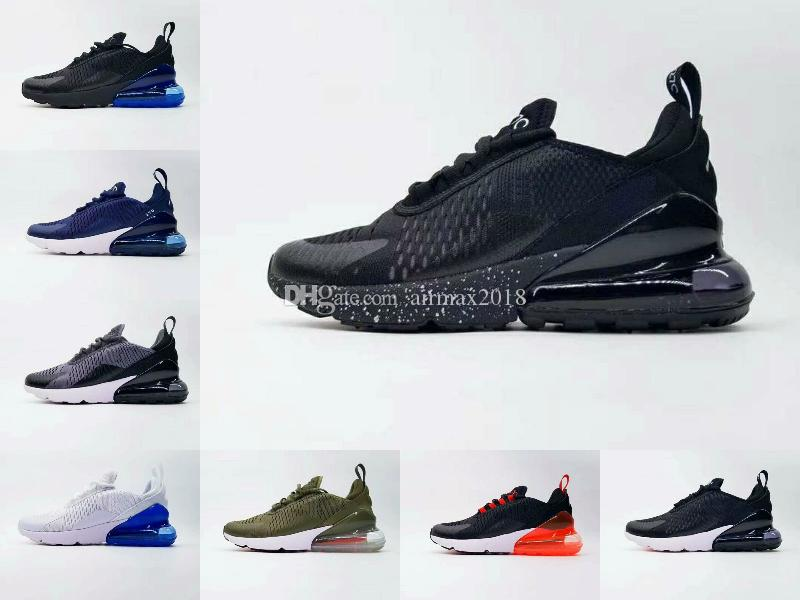 df7e94c02281 Hot Sale 92 Mens Triple Black 270 AH8050 Trainer Sports Shoes Womens Sole  27c Maxes Sneakers Shoes Size 36-45 Online with  94.41 Piece on  Airmax2018 s Store ...