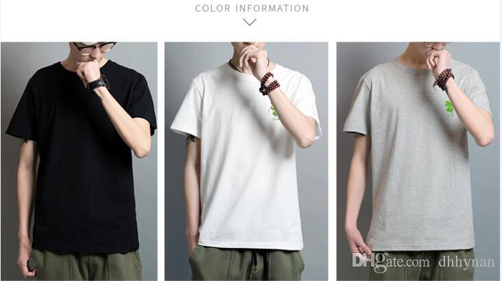 a6eeba61 Lucky Clover 2018 Men And Women Couple Simple Cotton Short Sleeved T Shirt  Slim Pure White Shirt China Cartoon T Shirt Shirt Shirts Buy Tees From  Dhhynan, ...