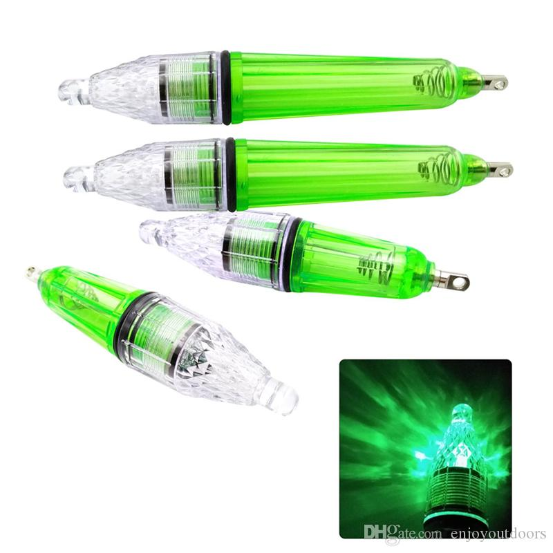 Wholesale-waterproof flashing lamp Green Underwater Fishing Boat Light Lamp For Attracting Lure Light 12cm 17cm