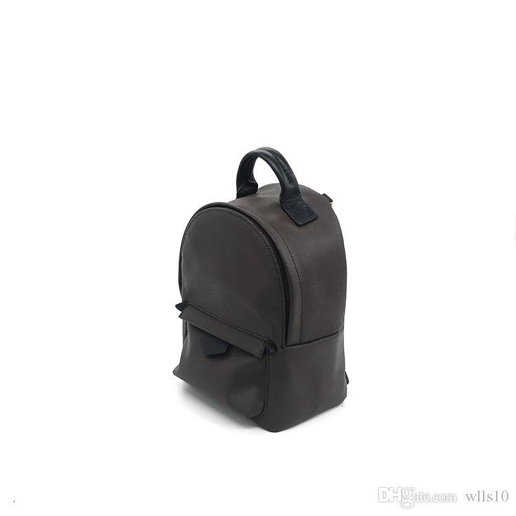 2018 chaud Hight qualité Palm Springs Mini Sac à dos enfants authentiques sacs à dos femmes impression en cuir Mini femmes sac à dos 41560 41562