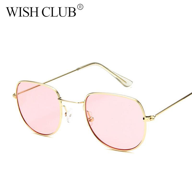 a6c5897f7f Compre CLUB DE DESEOS Nuevas Gafas De Sol De Moda Chic Unisex Lentes De  Lentes Translúcidas UV400 Gafas De Sol De Color Caramelo Para Mujeres  Hombres A ...