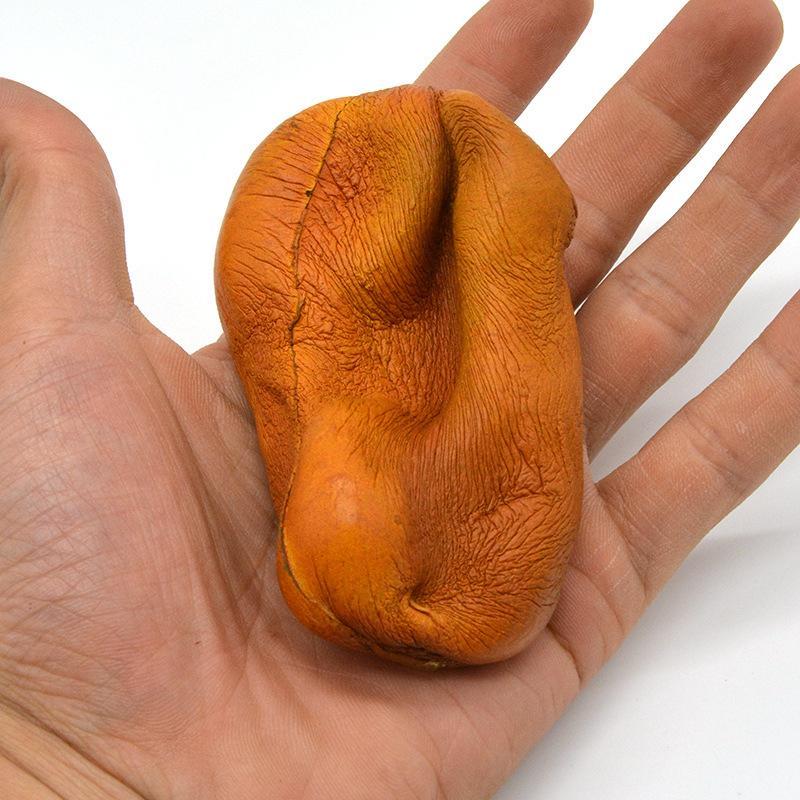8.6cm Kawaii Simulation Kiwi Fruit Squishy Slow rising Phone Strap Accessories Charm Cream Soft Scented Bread Cake Kid Toys P15