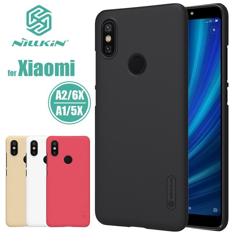 bd8cc1109f7 Compre Xiaomi Mi A2 Mi 6x Mia2 Nillkin Super Fosco Escudo Rígido De Volta Pc  Case Capa Para Xiaomi Mi5x Mia1 Mi 5x A1 Nilkin Phone Case De Missyou2016