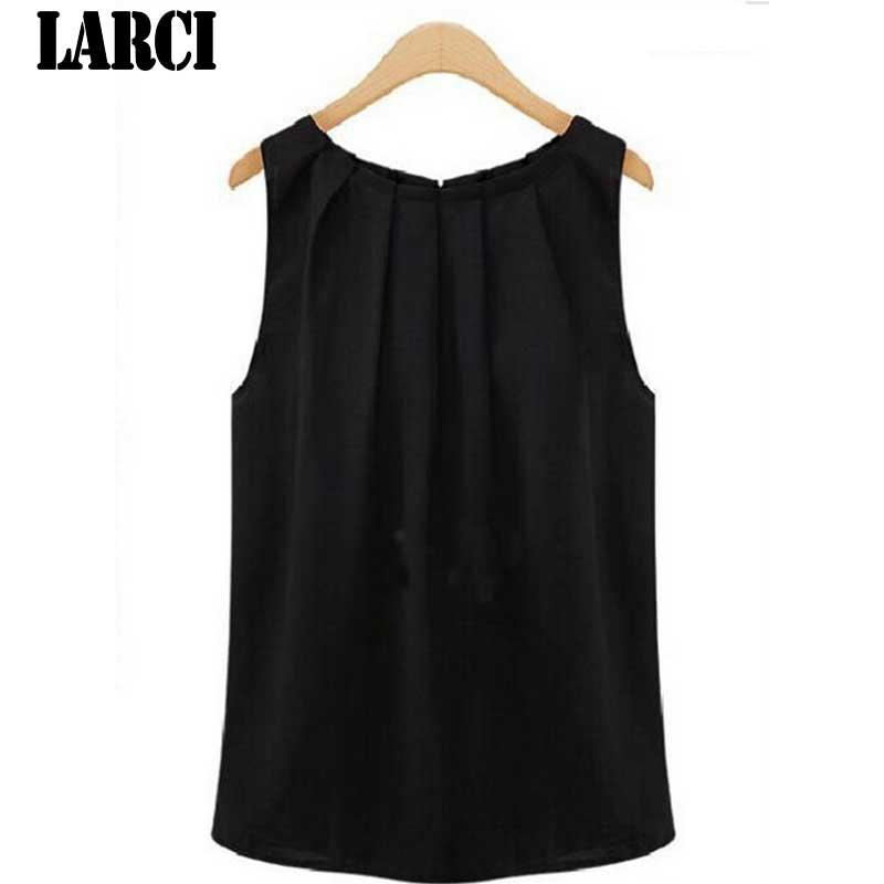 a96bfed8ebe57 LARCI 2018 Summer T-shirt High Quality Sexy Tank Cami Tops ...