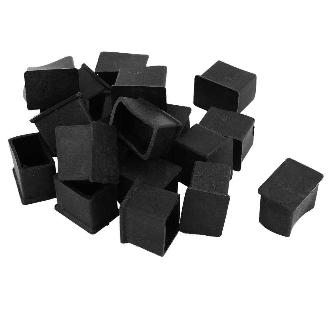 Best Quality Rubber Pvc Covers Chair Leg Protector End Caps 20mmx30mm Black  At Cheap Price, Online Furniture Accessories | Dhgate.Com