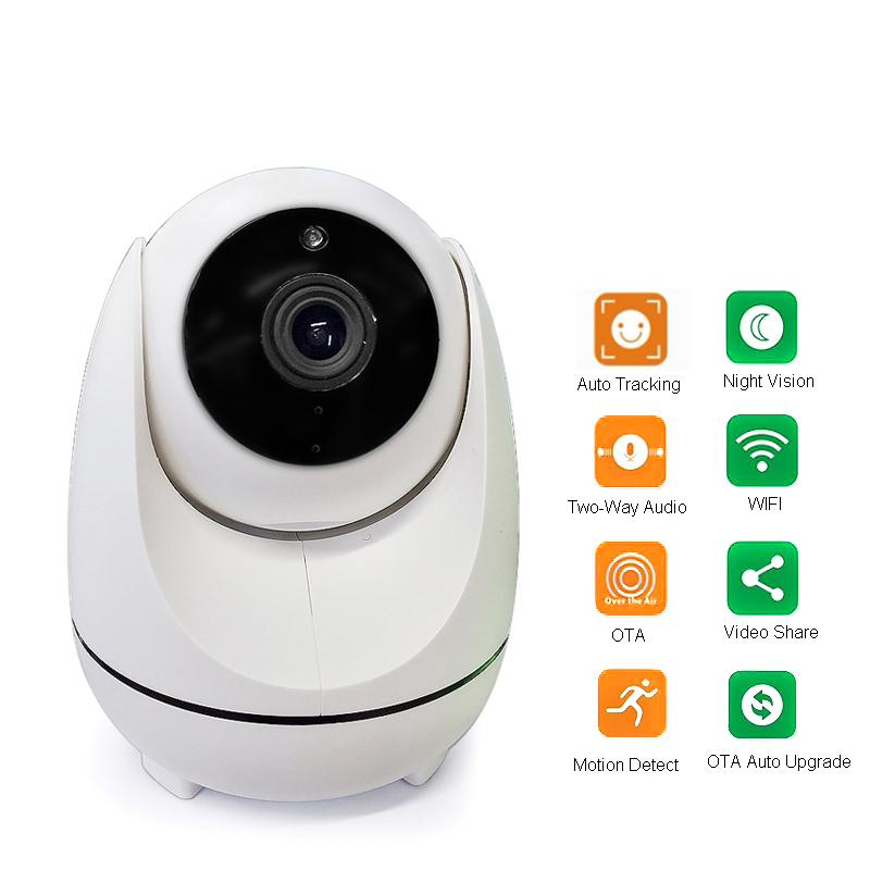 a48af71e63d Auto Tracking 1080P WIFI Camera 360 Degree Two Way Audio 2MP Automatic  Tracking Wireless Wifi IP Camera Ip Camera For Sale Ip Camera Installation  From ...