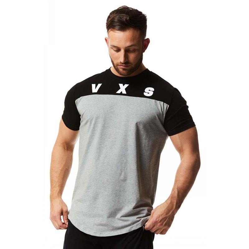 f290ccbb6bb06 New Mens Brand Exercise Gyms T Shirt Fitness Bodybuilding Crossfit ...
