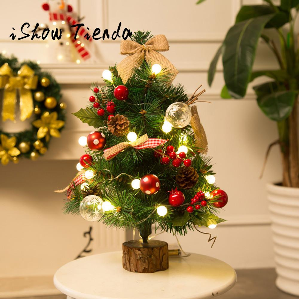 Artificial Flocking Christmas Tree LED Multicolor Lights Holiday ...