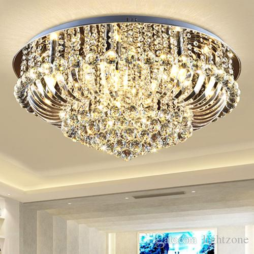 Exceptional Dimmable Crystal Chandeliers High End Class K9 Crystal Led Ceiling Modern  Chandeliers Lighting Ceiling Lamp Hotel Hall Villa Crystal Lights Wine  Glass ...