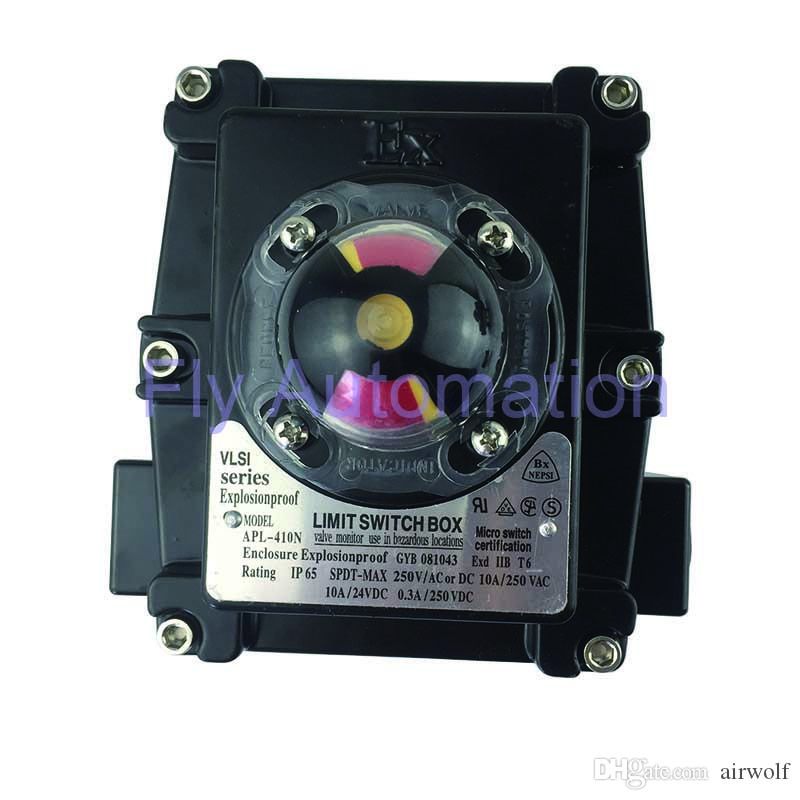 APL-410N Explosion proof Limit Switch BOX Low-cost Good Quality industrial  APL-2,3,4,5N series Valve Position Monitor