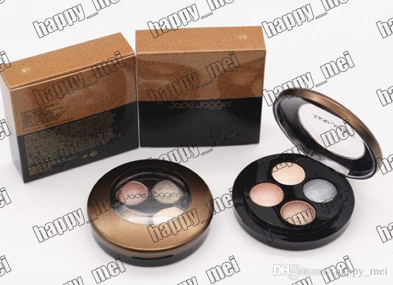 Usine Directe DHL Livraison Gratuite Nouveau Maquillage Yeux jade jagger Mineralize 4 Couleurs Ombre À Paupières Palette!