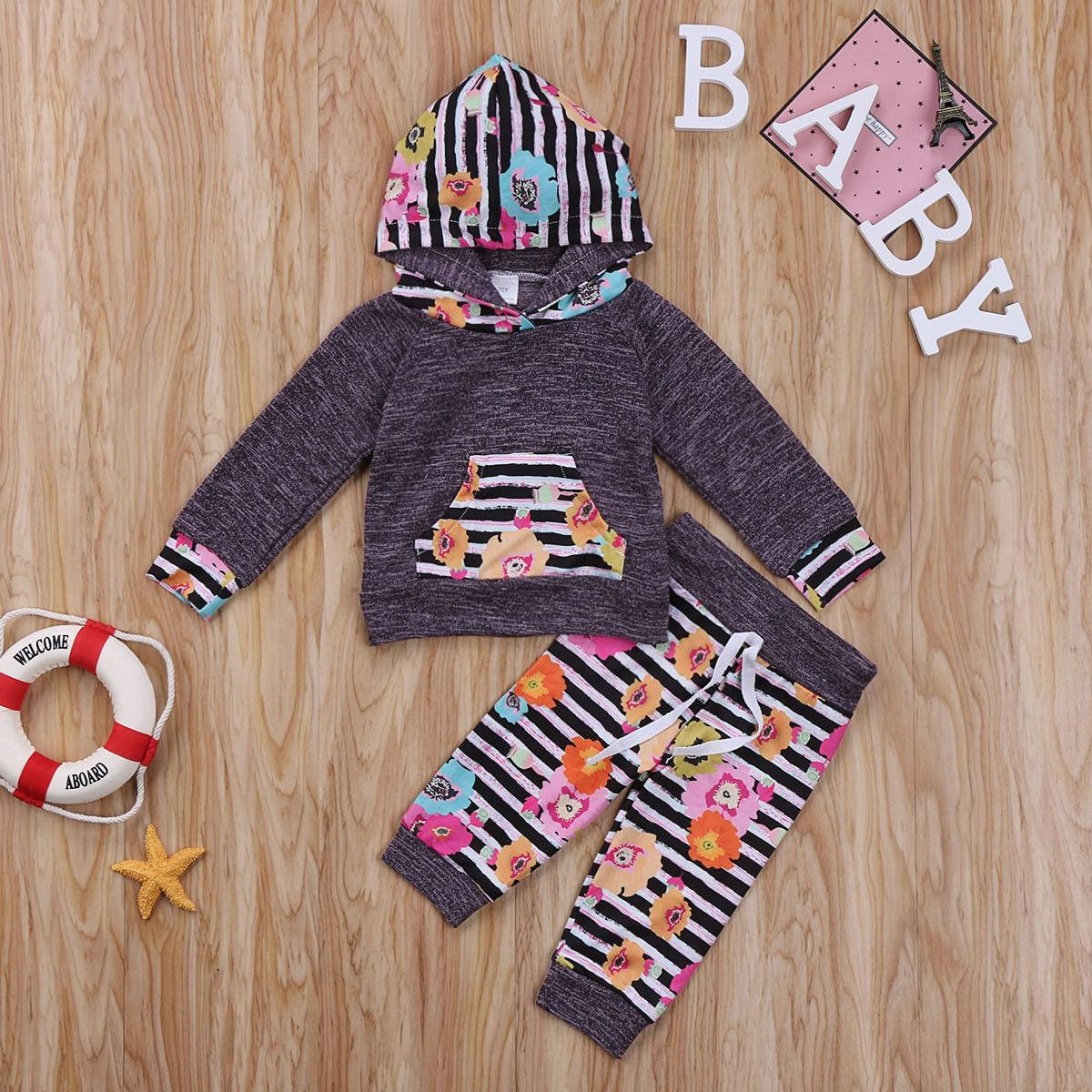 15ed00153 2019 Newborn Infant Baby Girls Clothing Set Toddler Boutique Outfit ...