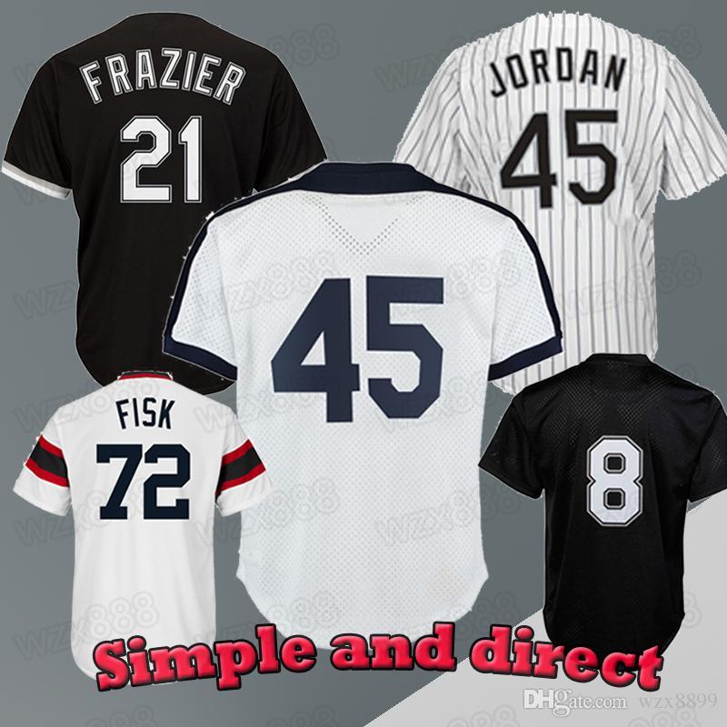 4c5d95361 2019 Chicago White Sox Jersey 10 Yoan Moncada 8 Bo Jackson 79 Jose Abreu 35  Frank Thomas 21 Todd Frazier 45 74 Jersey From Wzx8899