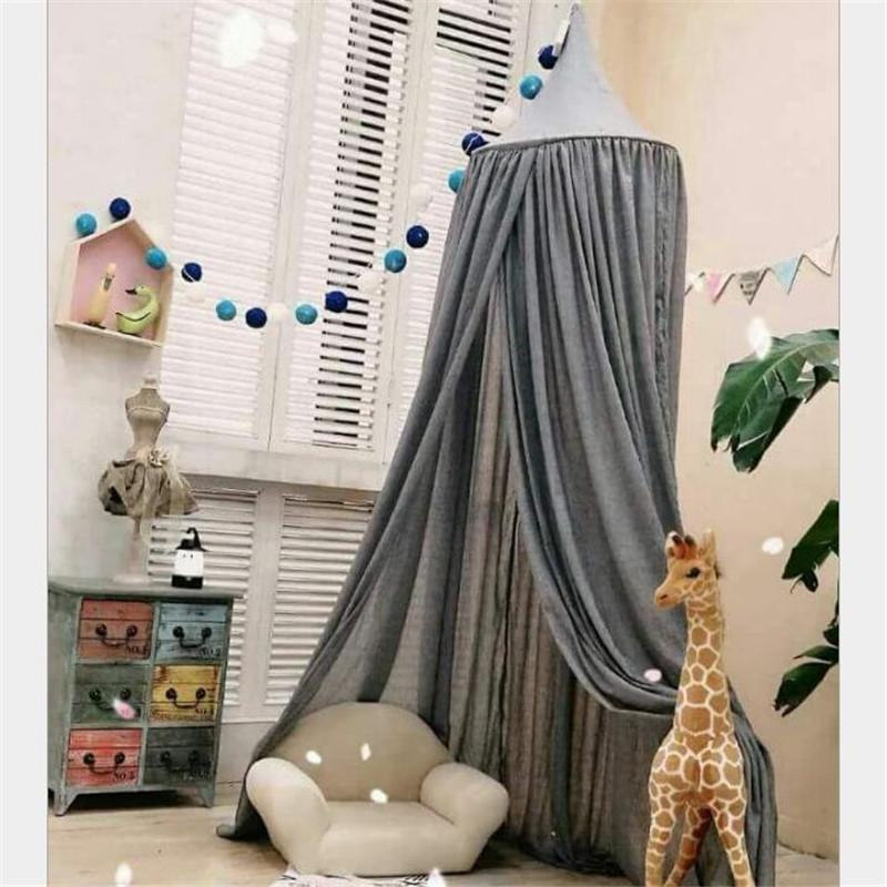 Infant Bed Curtains Baby Crib Bed Mantle Play Game Tent Kids Children Room Decor Sleep Bedside Neing Mosquito Net