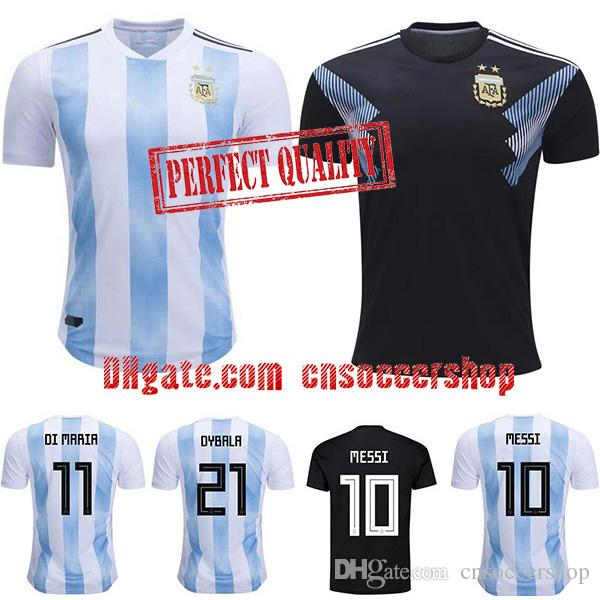 7f9aa3792a9 2019 Argentina Soccer Jerseys 2018 2019 S 4XL World Cup Jersey Argentina  Football Shirt Perfect Quality Kit Messi Camiseta Argentina From  Cnsoccershop, ...