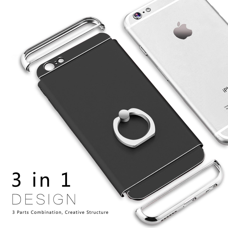 Für iPhone X 10 6S 7 8 Plus Fall Luxus Ultra Thin Stoßfest Hybrid Hard Cover