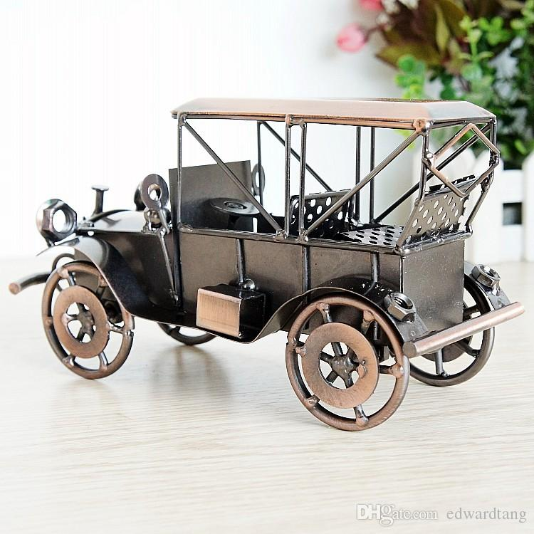Iron Car Model Toys, Classic Vintage Cars, Handmade Arts &Crafts, for Kids' Birthday Party Gifts, Collecting, Home Decoration
