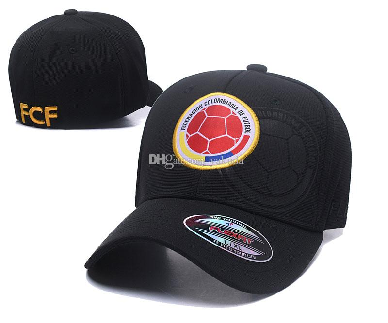 cd907659504 2019 2018 World Cup Colombia FCF 2018 New Men Women Snapback Baseball CapS  HATS