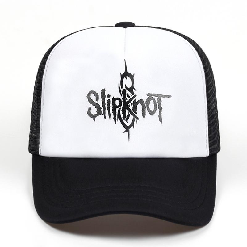 0ee0d647d7b Summer Style Fashion Men Cap Black Snapback Cap Men s Hat Cotton Rock Band  Slipknot Baseball Adjustable Trucker Hat 59fifty Snapback Cap From Huazu