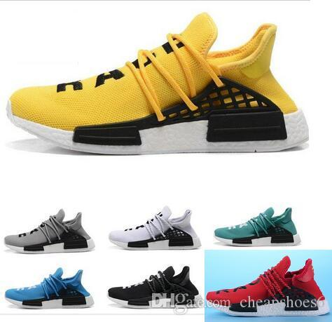 Kids Big Boys And Girls Men S Women S HUMAN RACE Pharrell Williams X 2016  Men S   Women S Kids Discount Cheap Fashion Sport Shoes Kids Free Runners  Sneaker ... e2d3c6374