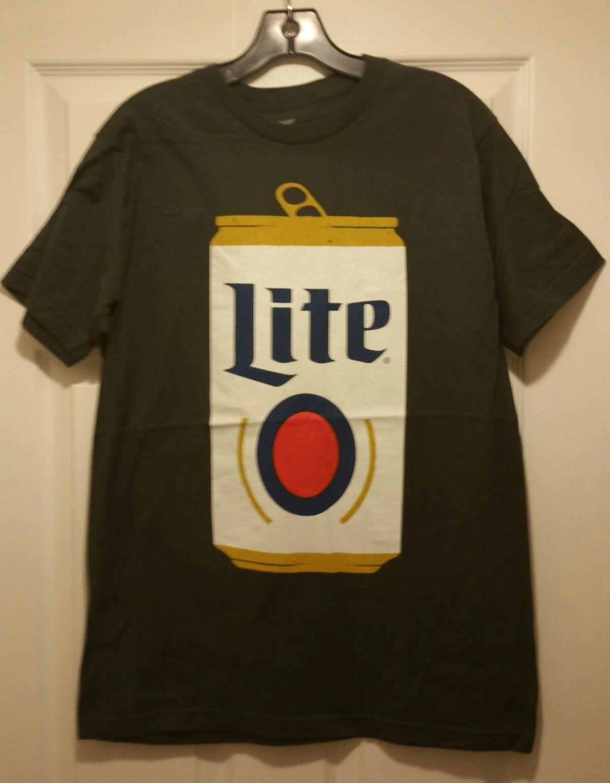lite vintage Miller beer shirt