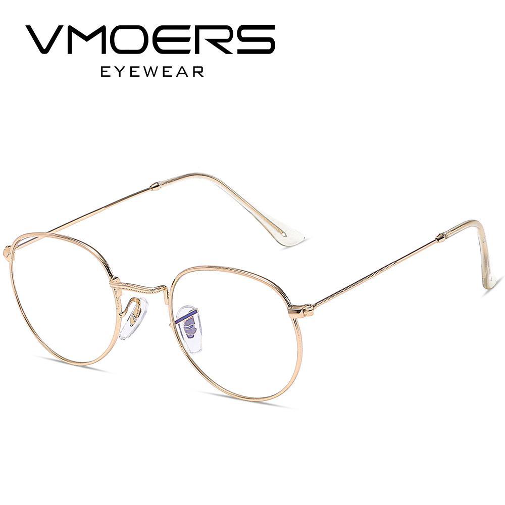 94dd7559f 2019 VMOERS Metal Retro Eyewear Frames Men Round Fake Glasses Frame Men Clear  Myopia Optical Spectacle Vintage Eyeglass Frames New From Fashionable16, ...