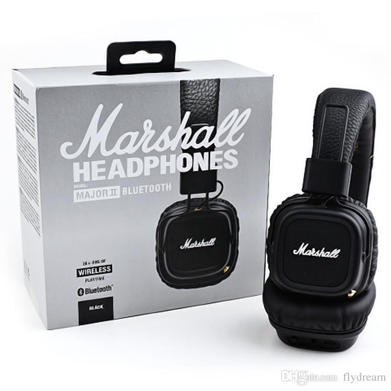Acquista Cuffie Bluetooth Marshall Major 2 Cuffie Wireless 30 HRS HIFI  Cuffie Con Scatola Al Dettaglio Spedizione DHL Gratuita A  25.29 Dal  Flydream ... 453c7f39caac