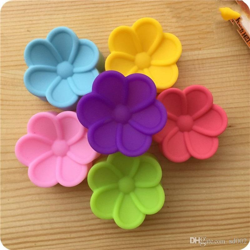 Silicone DIY Cake Mold 5CM Begonia Flower Shape Three Dimensional Bread Chocolate Hand Soap Mould Bakery Pastry Decor Baking Tools 0 5de YY