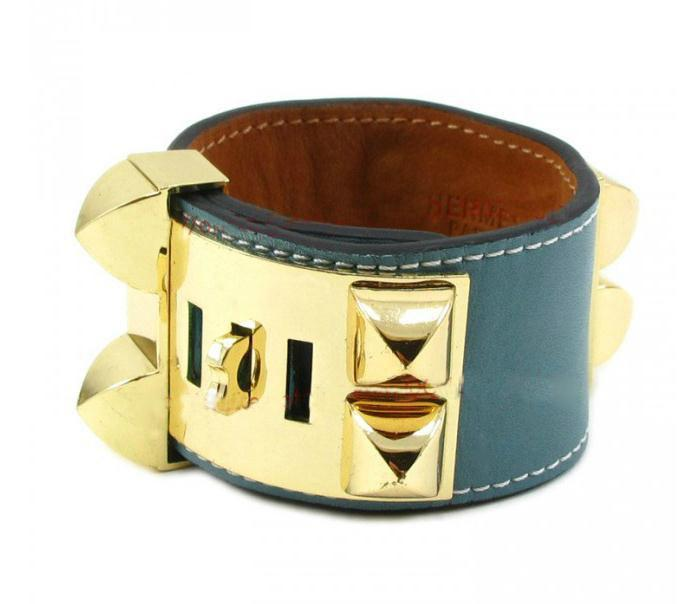 Luxury H Brand Bracelets Wide Four Rivets Leather Bracelets Women Men Gold Silver CDC Punk Width 3.8cm Bracelet Fine Jewelry
