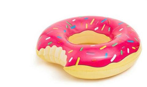 Nouveau 90 cm Donut Natation Été Extérieure Gonflable Bague de Natation Piscine Natation Flottant Bateau Ligne D'eau Jouet Piscine Flotteurs Gonflables Piscine Jouets