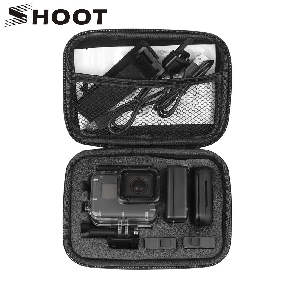 Wholesale Portable Small Eva Action Camera Case For Gopro Hero 5 6 4 Hd 3 Xiaomi Yi 4k Sjcam Sj4000 Eken H9 Box Go Pro Accessory Remote Drone