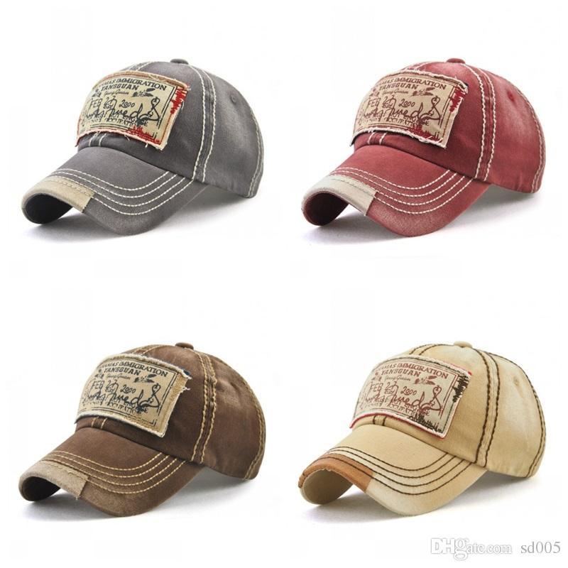 883ebcda986c58 Retro Fashion Sticker Cloth Cap Men Women Popular Style Ball Caps Colorful  Breathable Sweat Absorb Hats Hot Sale 15 5gy Z Flat Caps For Men Womens  Baseball ...