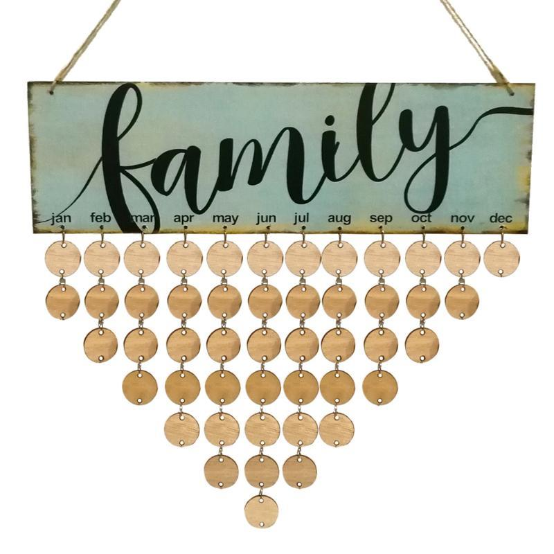 2018 Ecoration Crafts Wind Chimes Hanging Decorations Wood Birthday